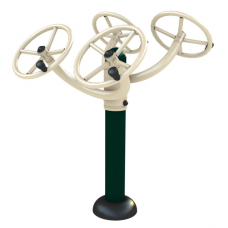FP-G2ASWS FP Double Arm Stretching Wheel Station